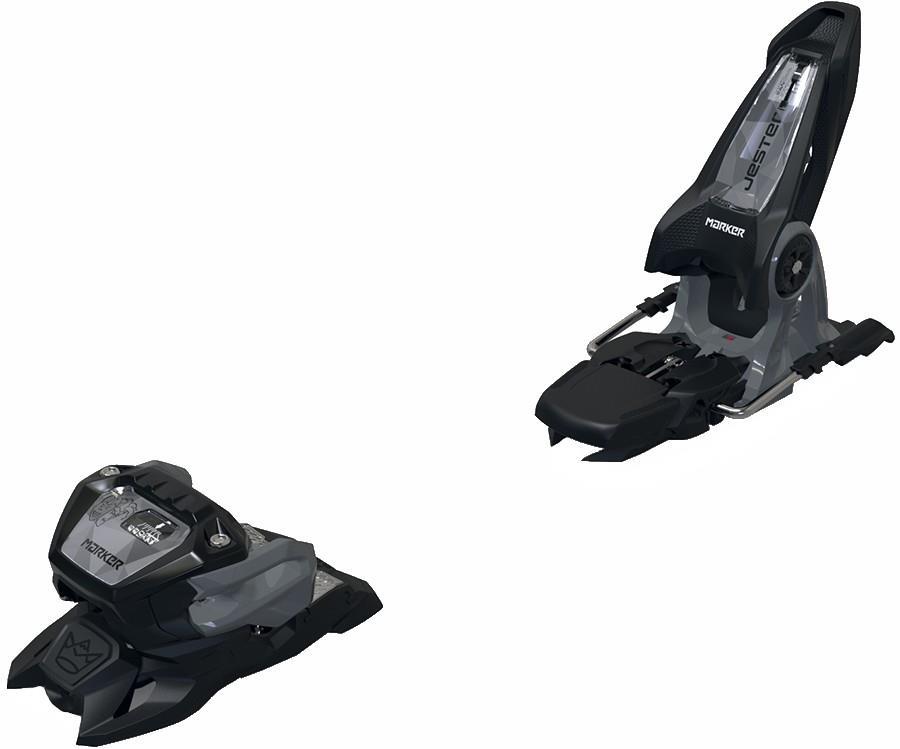 Marker Adult Unisex Jester 16 Id Ski Bindings, 110mm Black/Grey