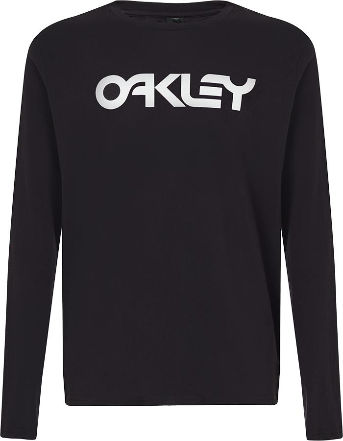 Oakley Mark II Long Sleeve T-Shirt, S Black/White