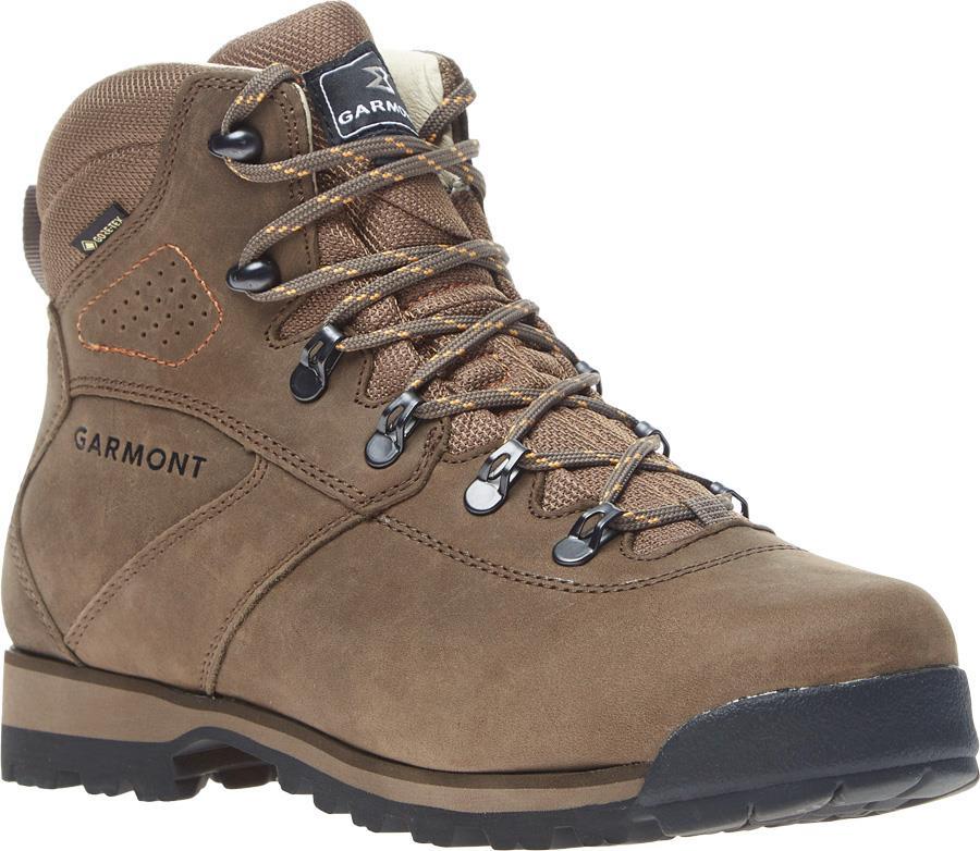 Garmont Pordoi Nubuck GTX Men's Hiking Boots, UK 10.5 Olive/Orange