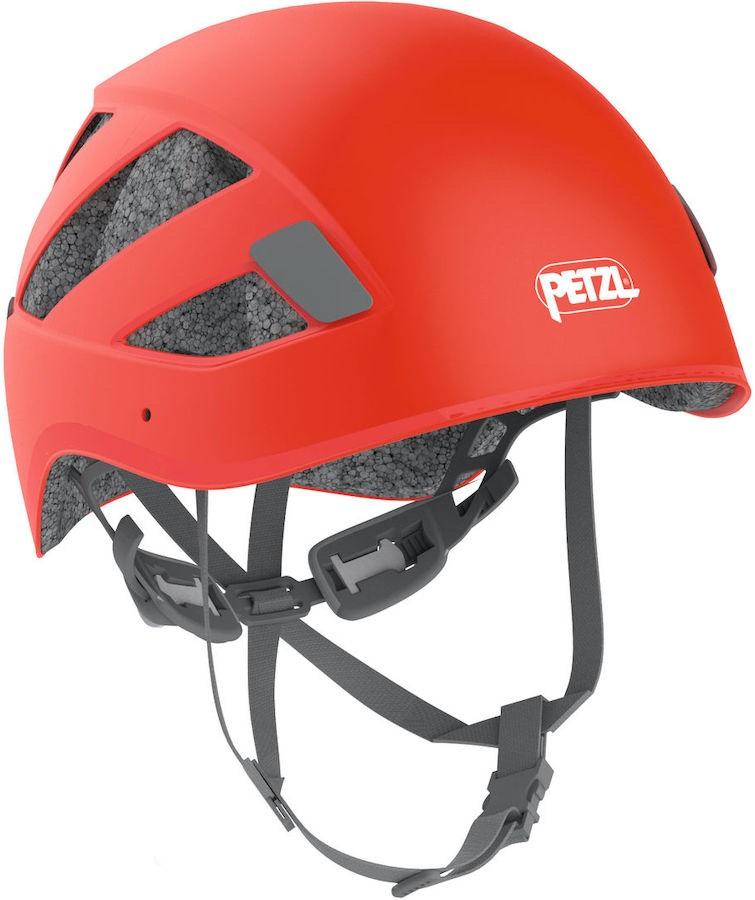 Petzl Adult Unisex Boreo Via Ferrata/Rock Climbing Helmet, S/M Red
