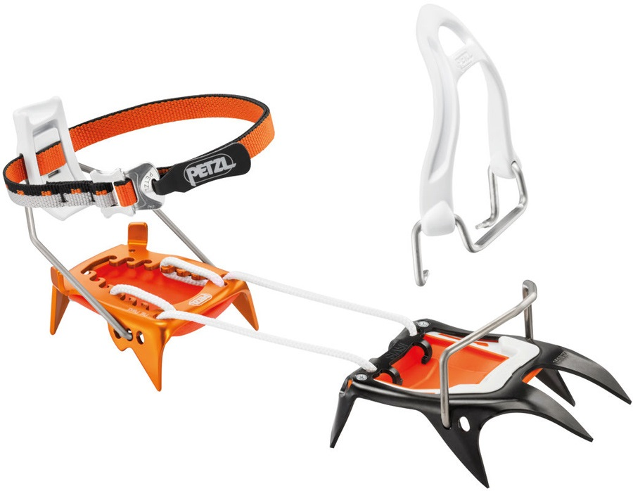 Petzl Irvis Hybrid Approach & Ski Touring Crampon, UK 3.5-12.5