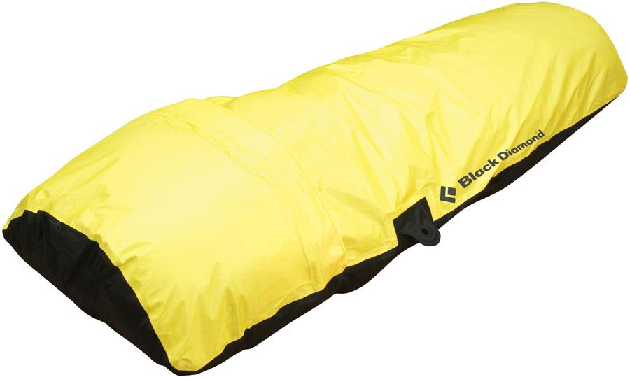 Black Diamond Big Wall Hooped Bivy Climbing Shelter, 1 Man Yellow