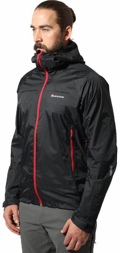 Montane Adult Unisex Meteor Pertex Waterproof Hiking/Walking Jacket, M Black