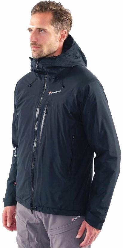 Montane Adult Unisex Duality Gore-Tex Insulated Hiking Jacket, S Black