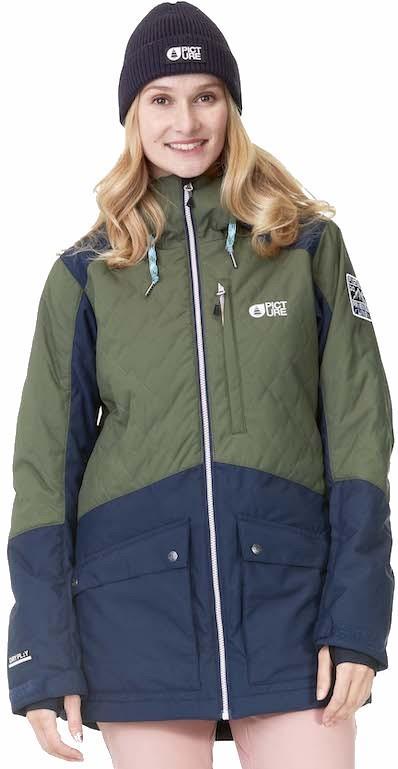 Picture Minera Women's Ski/Snowboard Jacket, M Army Green