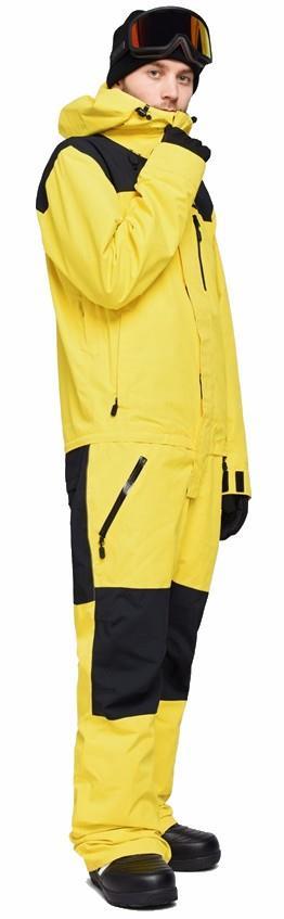 Airblaster Ski/Snowboard One Piece Suit, M YOLO