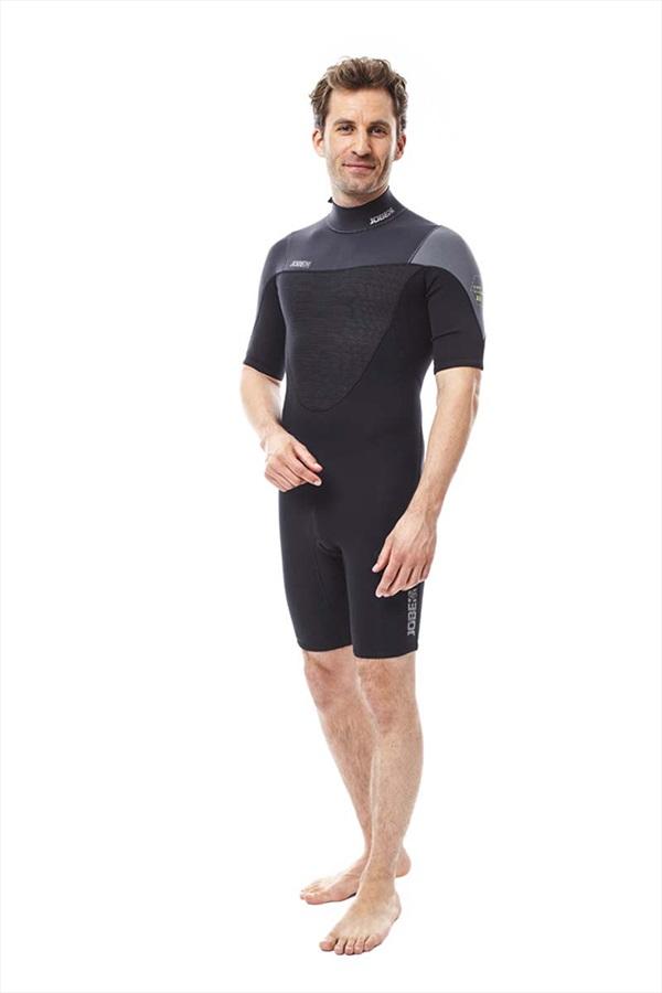 Jobe Perth 3/2mm Men's Shorty Wetsuit, M Black Grey 2021