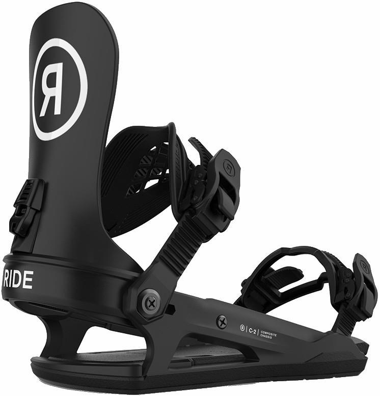 Ride C-2 Snowboard Bindings, M Black 2021
