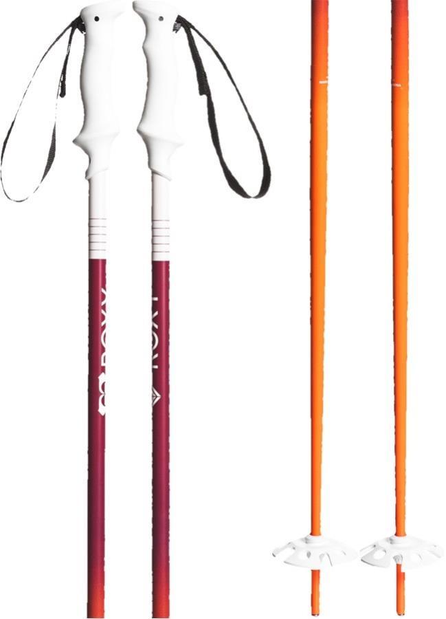 Roxy Kaya Ski Poles, 105cm Orange