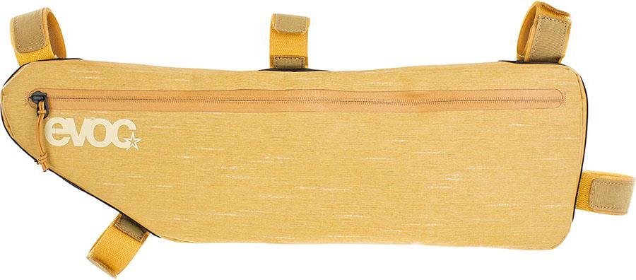 Evoc Frame Pack Frame Bag Bikepacking Bag, 3.5L Loam