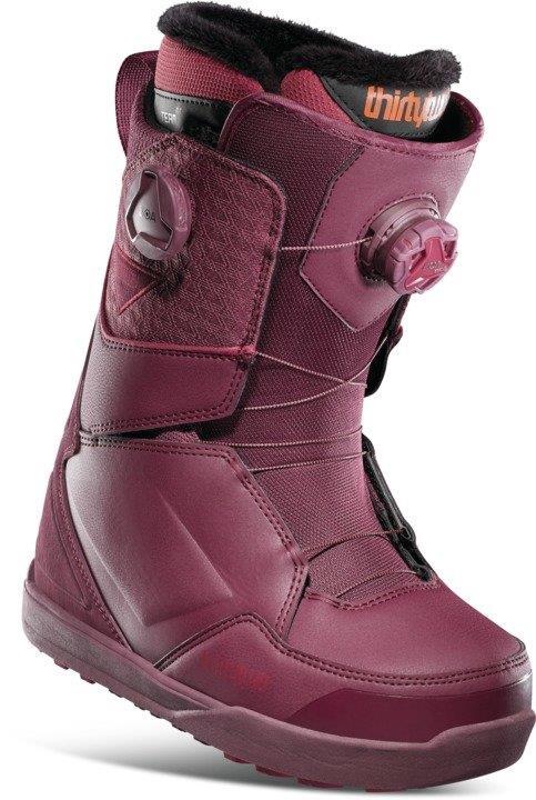 thirtytwo Lashed Double BOA Women's Snowboard Boots, UK 7 Maroon