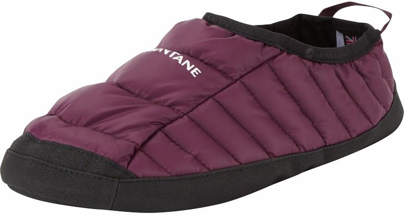 Montane Icarus Hut Insulated Camping Slippers, L Saskatoon Berry