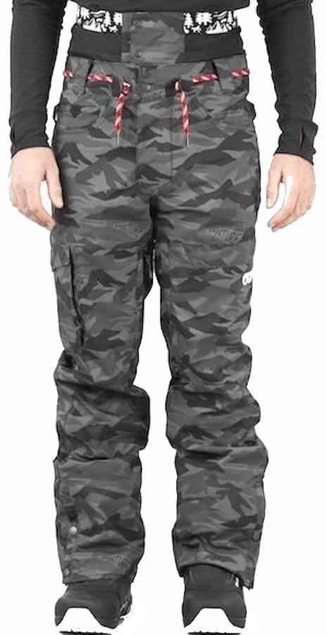 Picture Under Ski/Snowboard Pants, XL Metric Black