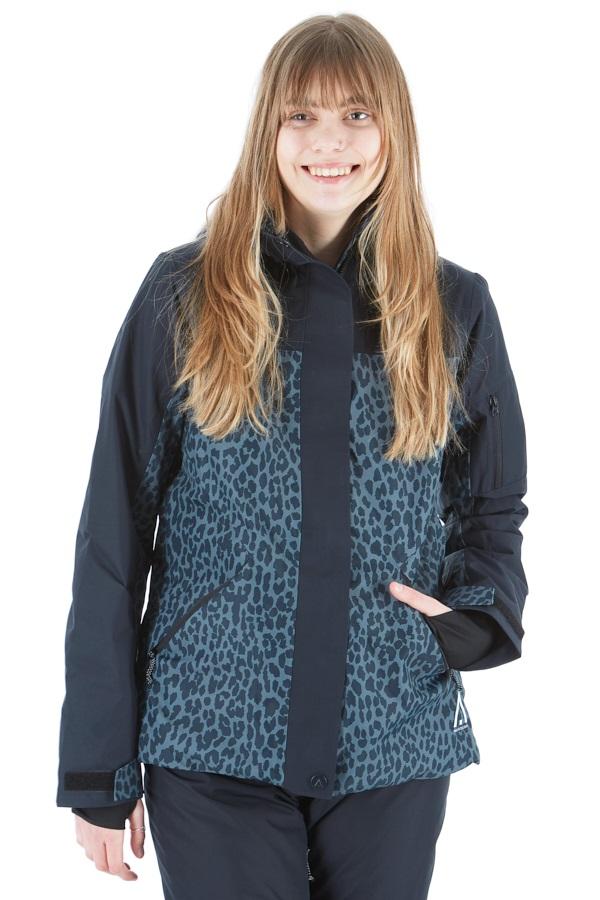 Wearcolour Base Women's Snowboard/Ski Jacket XS Black Leo