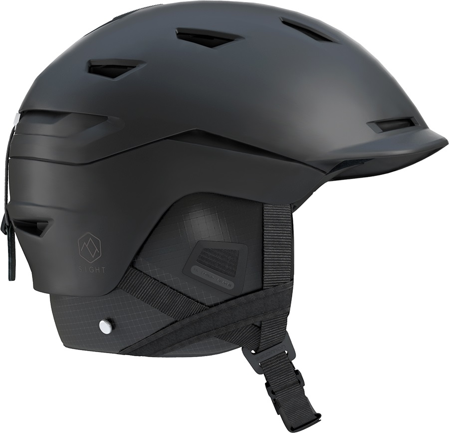 Salomon Sight Custom Air Snowboard/Ski Helmet, S All Black