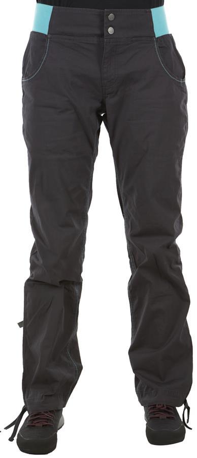 Rab Valkyrie Reg Women's Climbing Trousers, UK 14 Anthracite
