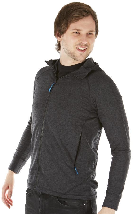 Rab Nexus Full-Zip Men's Fleece Mid-Layer Jacket, S Black