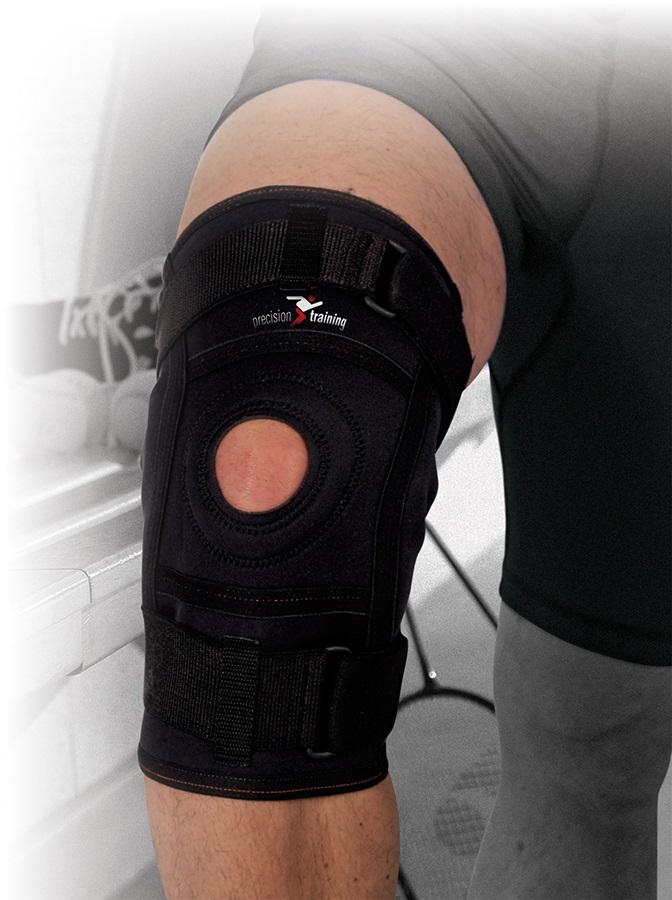 Precision Neoprene Hinged Knee Support XL Black