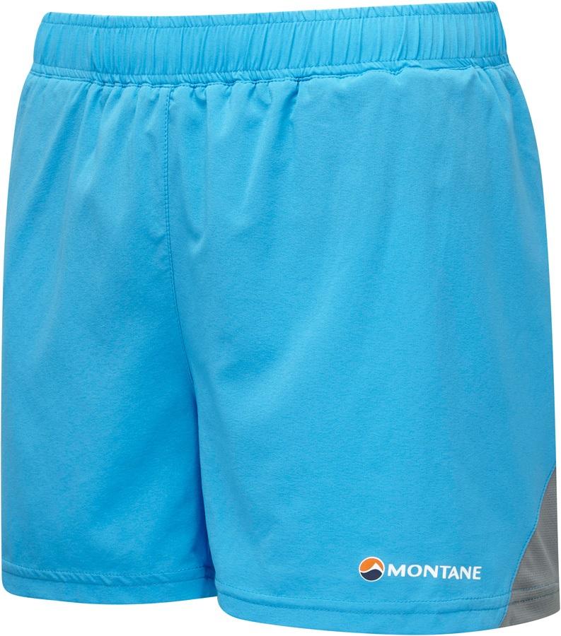 Montane Claw Women's Trail Running Shorts, UK 16 Cerulean Blue
