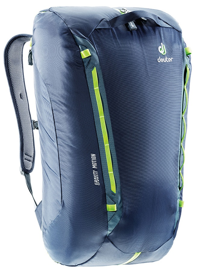 Deuter Gravity Motion Climbing Equipment Bag, 35 L Navy-Granite