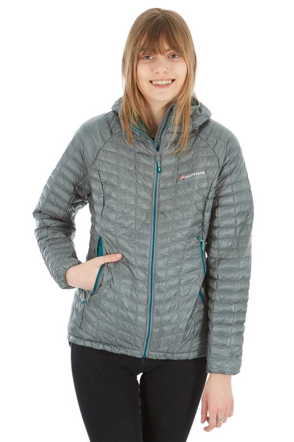 Montane Womens Phoenix Lite Insulated Jacket, UK 12 Stratus Grey