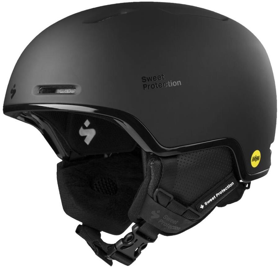 Sweet Protection Looper MIPS Snowboard/Ski Helmet, L/XL Dirt Black
