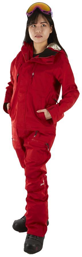 Airblaster Women's Freedom Ski/Snowboard One Piece Suit, M Dark Red