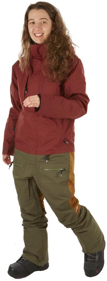 Airblaster Insulated Freedom Women's Ski/Snowboard Suit, M Oxblood