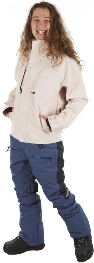 Airblaster Insulated Freedom Women's Ski/Snowboard Suit M Navy Blush