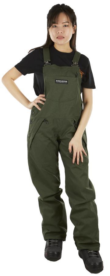 Airblaster Freedom Bib Women's Ski/Snowboard Pants, S Lizard