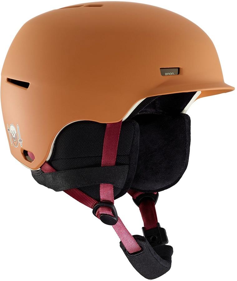 Anon Highwire Ski/Snowboard Helmet, S Doa Orange