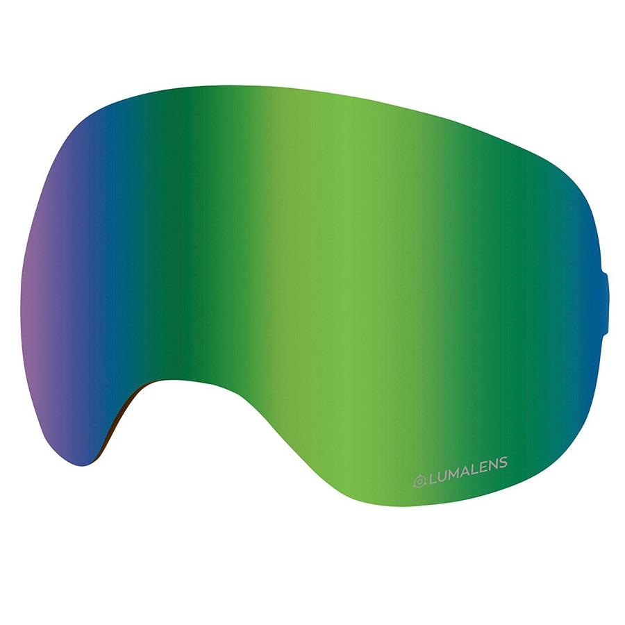 Dragon X2 Ski/Snowboard Goggle Spare Lens LumaLens Green Ion