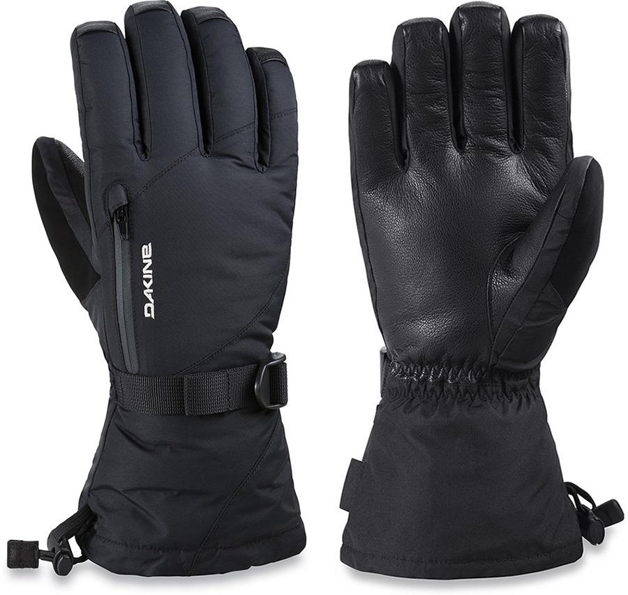 Dakine Leather Sequoia Gore-Tex Women's Snowboard/Ski Gloves XS Black