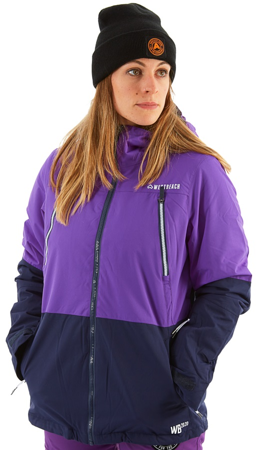 Westbeach Penrose Women's Ski/Snowboard Jacket, S Grapes