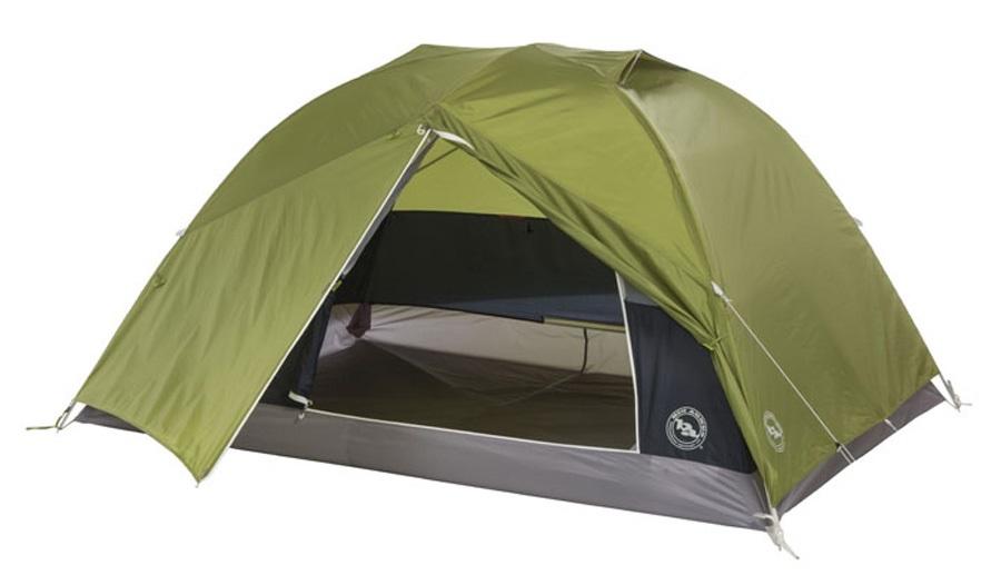 Big Agnes Blacktail 2 Lightweight Backpacking Tent, 2 Man Green