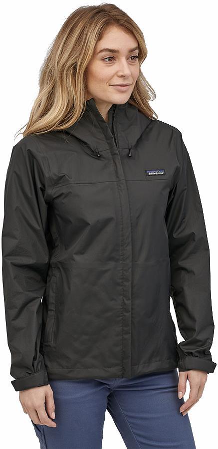 Patagonia Womens Torrentshell 3l Women's Waterproof Jacket, Uk 14 Black