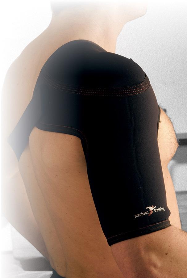 Precision Neoprene Shoulder Strap Support L Black
