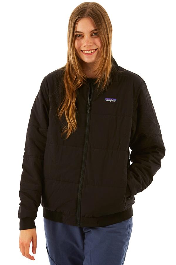 Patagonia Womens Zemer Bomber Jacket, XL Black