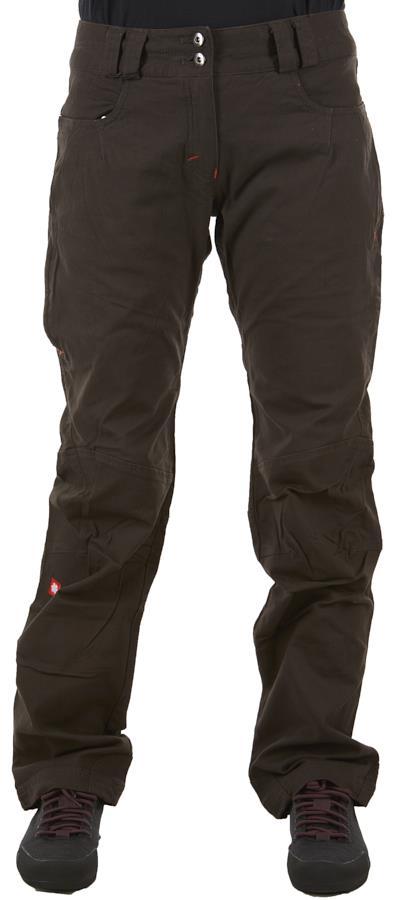 Ocun Zera Pants Womens Climbing Trousers, XS Dark Brown