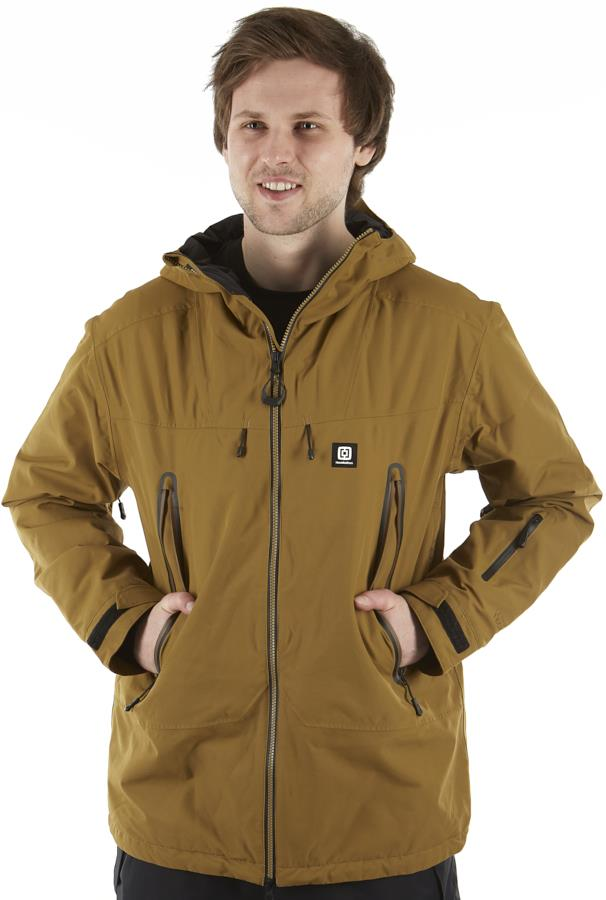 Horsefeathers Ymir Ski/Snowboard Jacket, M Dull Gold