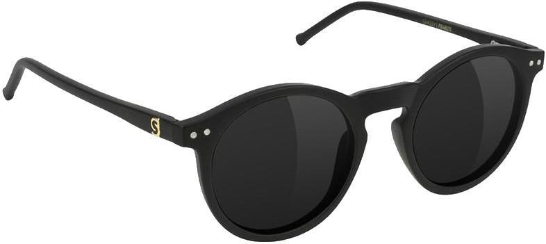 Glassy Sunhaters TimTim Premium Black Polarized Sunglasses Matte Black