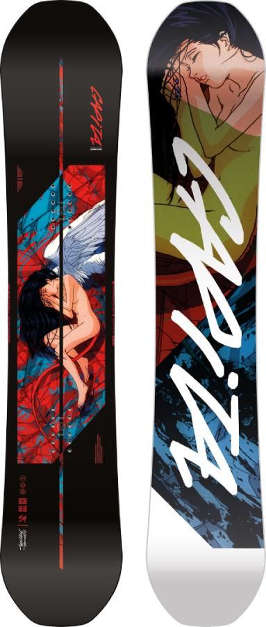 Capita Indoor Survival Freestyle Snowboard, 154cm 2022