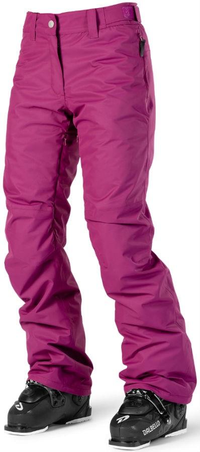 Wearcolour Fine Women's Ski/Snowboard Pants S Tibetan Red