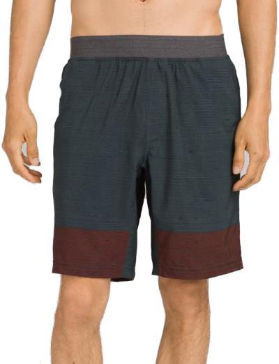Prana Super Mojo II Yoga/Bouldering/Climbing Shorts, S Grey Blue