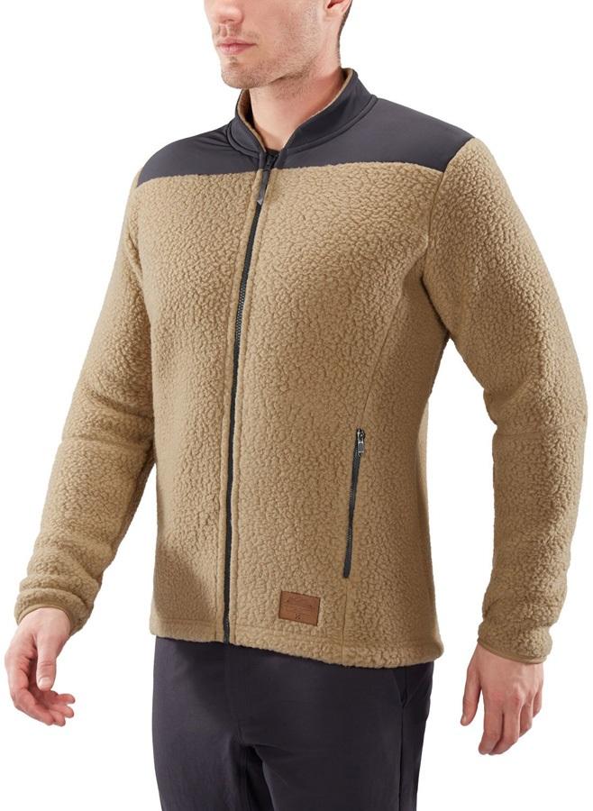 Haglofs Pile Fleece Lightweight Full-Zip Jacket, L Oak/Slate