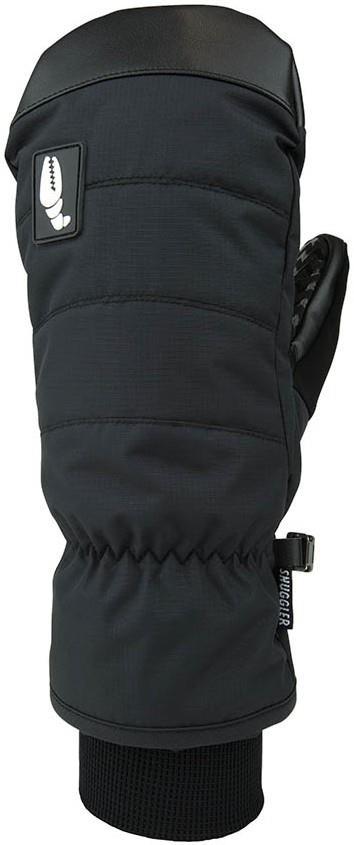 Crab Grab Snuggler Snowboard / Ski Mitts, XL Black