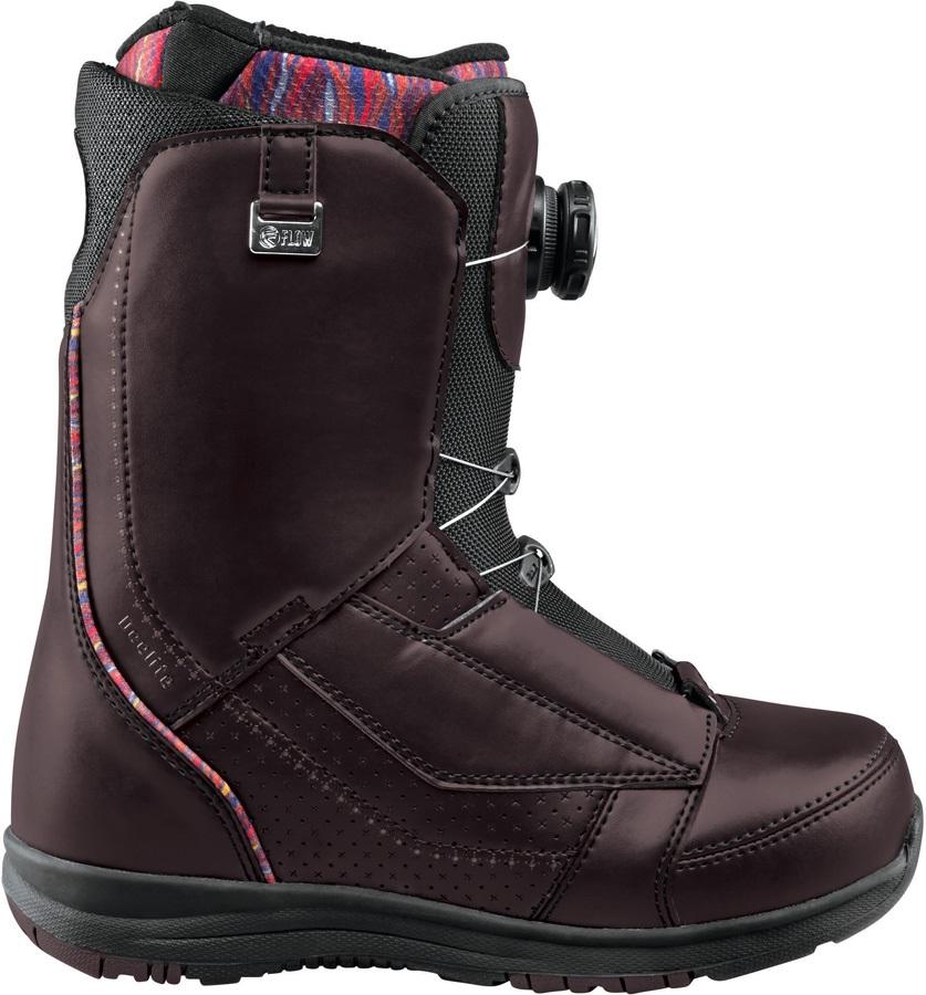 Flow DeeLite Coiler Women's Snowboard Boots, UK 4.5, Black, 2017