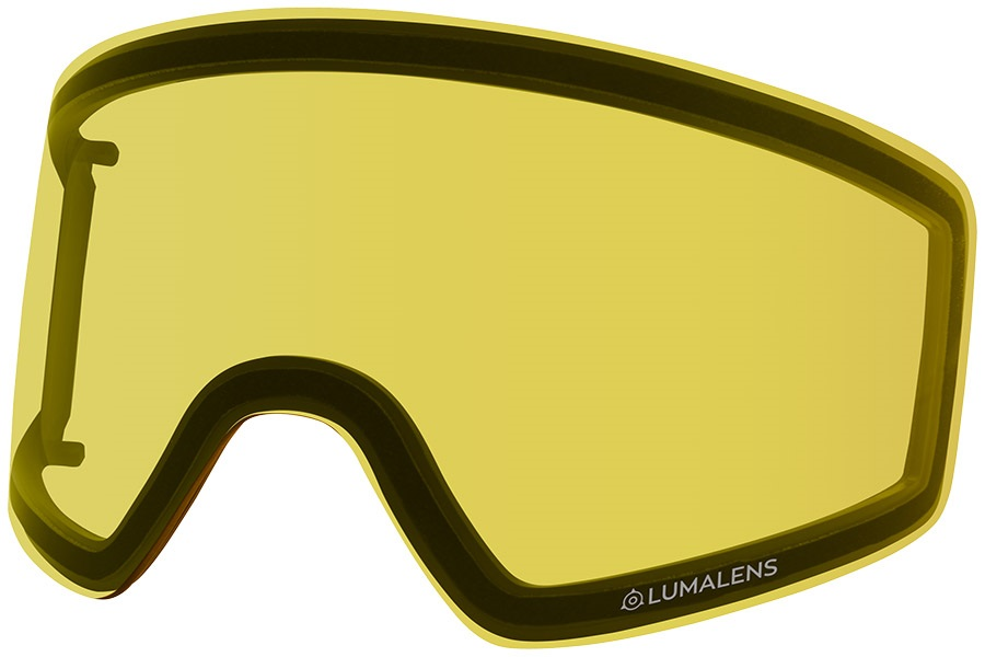 Dragon PXV2 Snowboard/Ski Goggles Spare Lens, LumaLens Yellow
