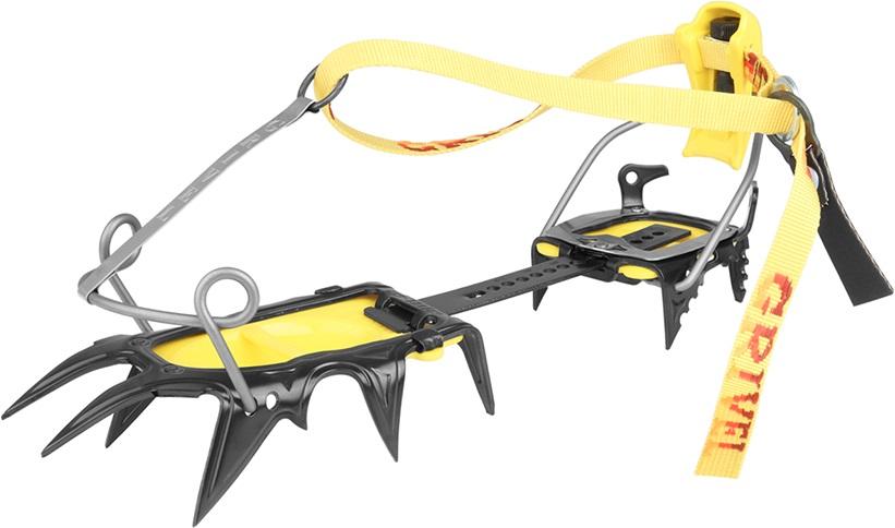 Grivel G12 Cramp-O-Matic Mountaineering Crampon, UK 3.5-13.5 Yellow