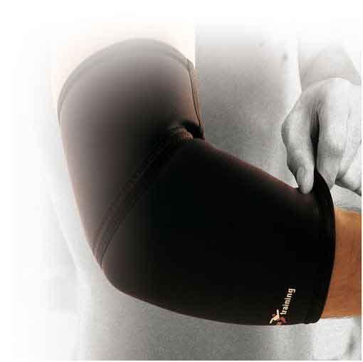 Precision Neoprene Elbow Support, L Black